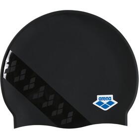 arena Team Stripe Flat Cap team stripe black black